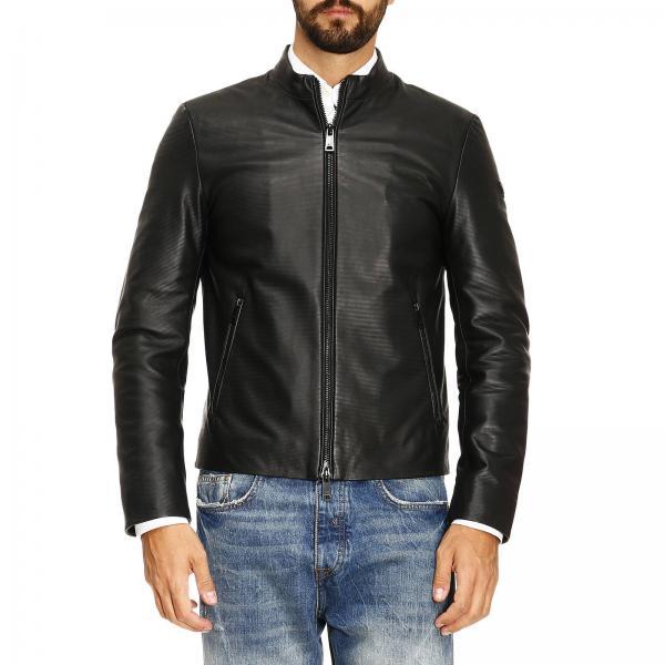 Armani Jeans Men's Black Jacket | Jacket Men Armani Jeans | Giorgio Armani  Jacket Zgb05p Zgp04 - Giglio EN