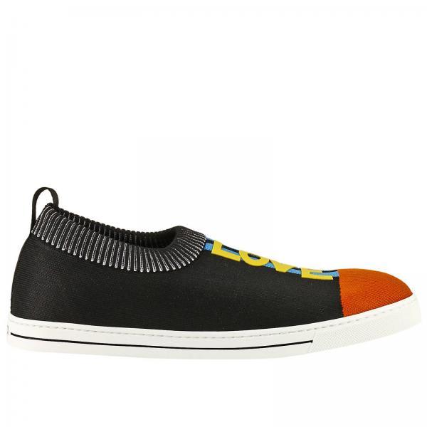 Baskets Homme Fendi Noir   Chaussures Homme Fendi   Baskets Fendi 7e1083  3sz - Giglio FR 7351881bf7e