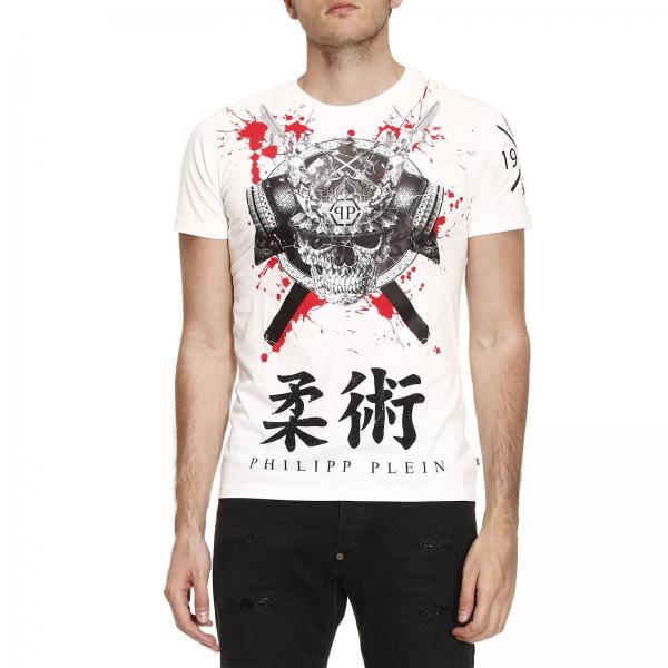 t shirt f r herren philipp plein wei t shirt philipp plein mtk0734 pjy002n giglio de. Black Bedroom Furniture Sets. Home Design Ideas