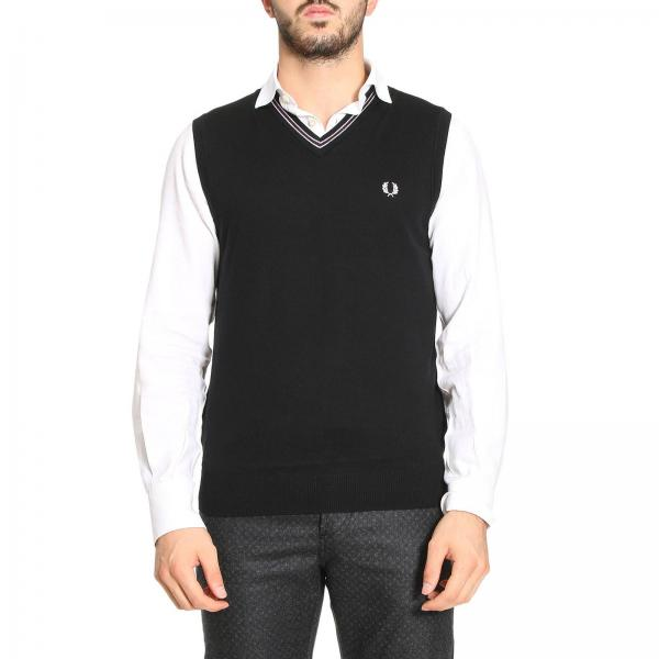 Suit Vest Men Fred Perry