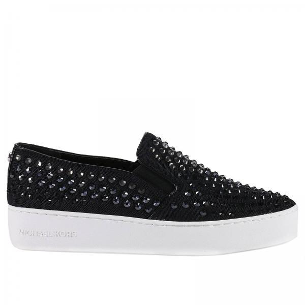 Michael Michael Kors Womens Black Sneakers Shoes Women Michael