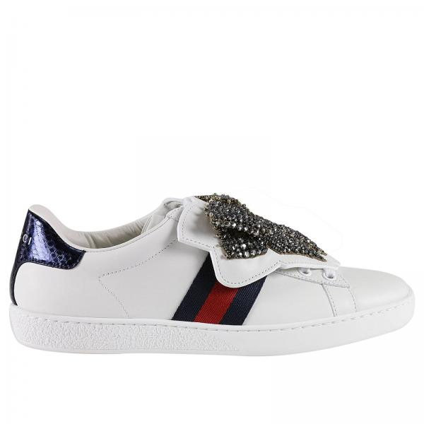 086e7d74ee75 Gucci Women s White Sneakers