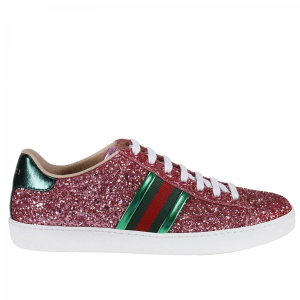 Sneakers Women Gucci Pink  a8866e47ba