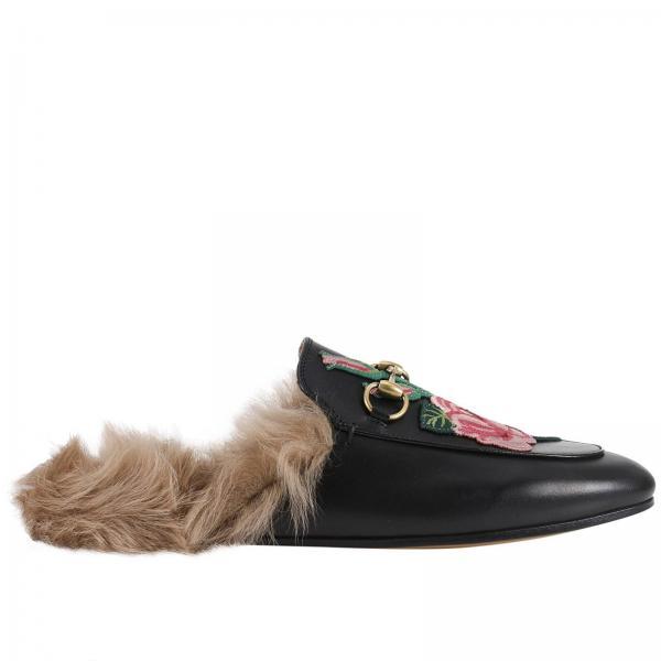 a70c7af4c92 Gucci Women s Black Ballet Flats