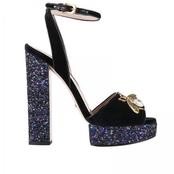 fee65e007f74 Gucci Women s Black Heeled Sandals