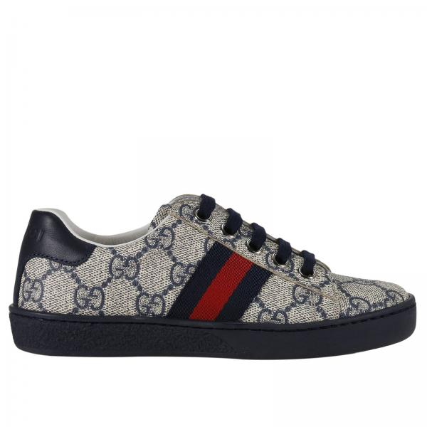 on sale 0b2f0 4112c Neue ace sneakers in gg supreme stoff mit web bands