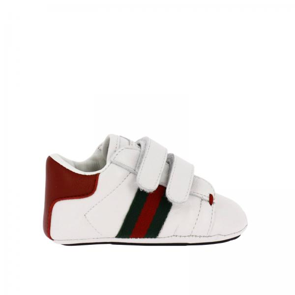 Scarpe neonato Gucci Bianco  f67f6ee9db7