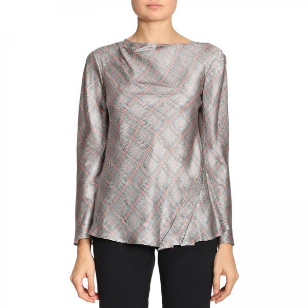 Giorgio Armani Women s Grey Top  e5c3a2f57