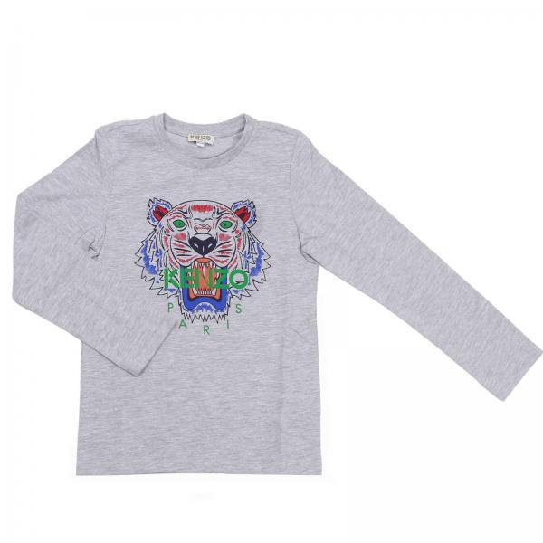 604c181e2a3a Kenzo Junior Little Boy s Grey T-shirt