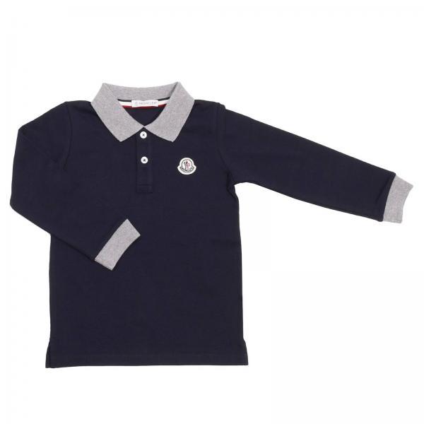872ea378cf38 Moncler Little Boy s Blue T-shirt