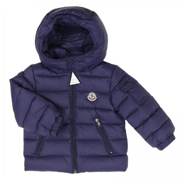 c2dd5fc579a7 Moncler Baby s Blue Jacket
