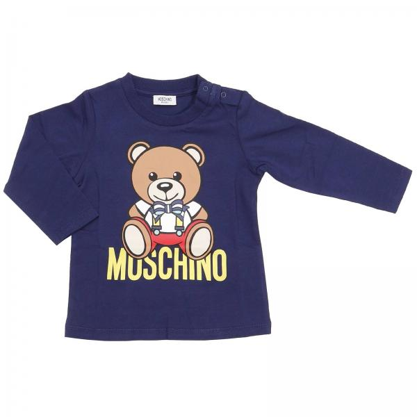 T-shirt Baby Moschino Baby Blue eab7086fe