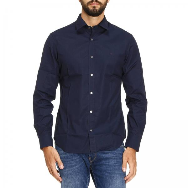7bc44ec3ca6c Burberry Men s Navy Shirt
