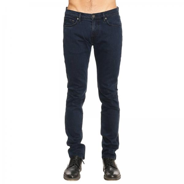 Cotone Fit Blue Uomo Slim Stretch Burberry Jeans In Con TYqpFwzwx