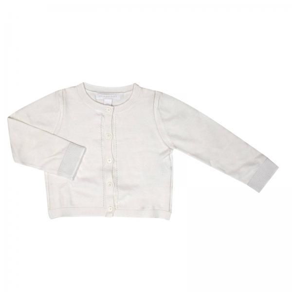 ae1a4206d8f4 Cardigan mini rheta in puro cotone con dettagli check interni