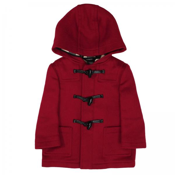 burberry hoodie red