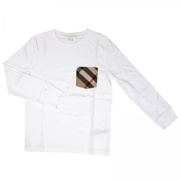 0dc0681a6125 Burberry Little Boy s White T-shirt