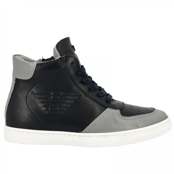 e1c4df9d891a Armani Junior Little Boy s Blue Shoes
