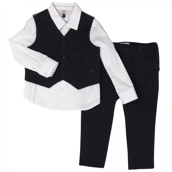 amazing price outlet store on feet images of Completo Camicia, Gilet E Pantalone Tessuto Operato