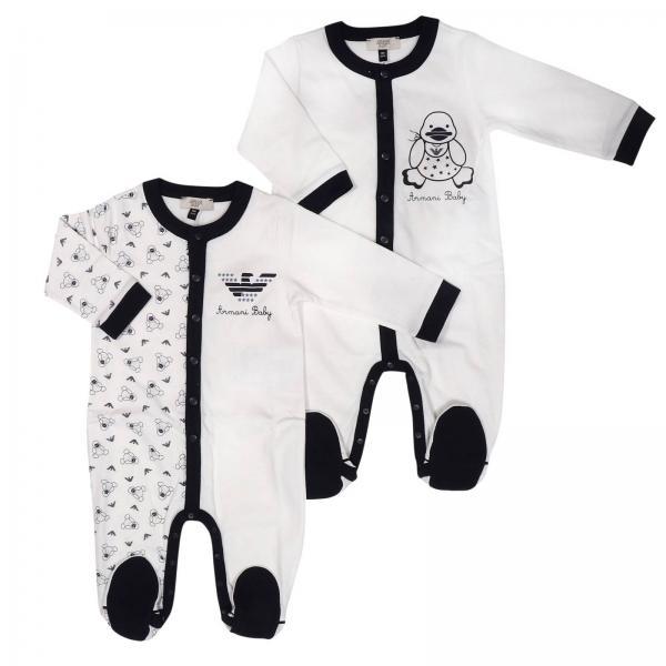 Боди для новорожденных ARMANI JUNIOR Синий  7796206e689b9