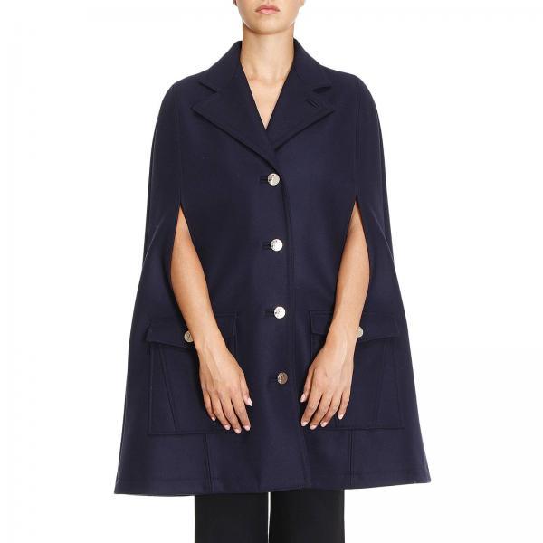 Cape Femme Versace Collection Bleu   Manteau Femme Versace Collection    Cape Versace G35130 G602961 - Giglio FR 6ceabdfd6a4