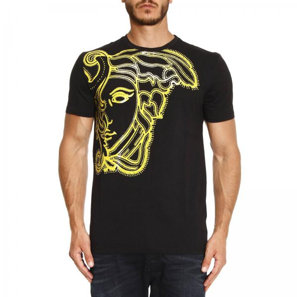 Versace Collection Men s Black T-shirt   T-shirt Men Versace ... 0eb1ab1630b