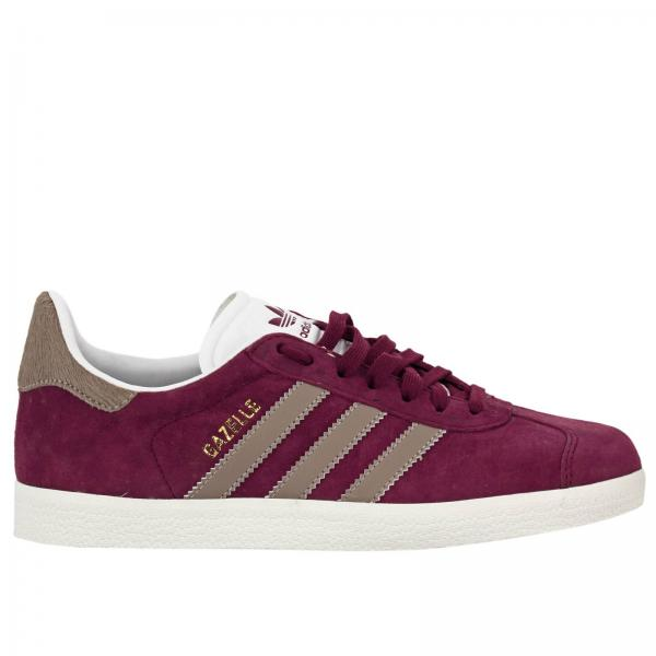 Sneakers Donna Adidas Originals Bordeaux | Sneaker Gazelle W Originals Classic In Pelle Scamosciata E Cavallino | Sneakers Adidas By9357 - Giglio IT