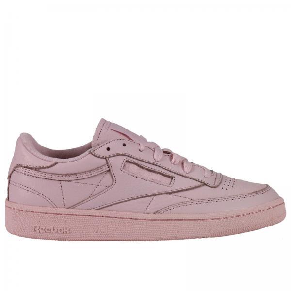 reebok pink sneakers