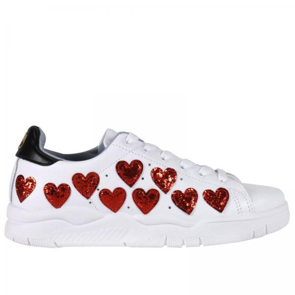 Blanc Chiara Femme Ferragni Chaussures Baskets Bnw4Uzaqw