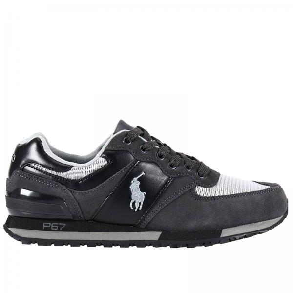 Ralph B3e51 Hot 20a46 Lauren White Black Shoes 8n0OkwXPN