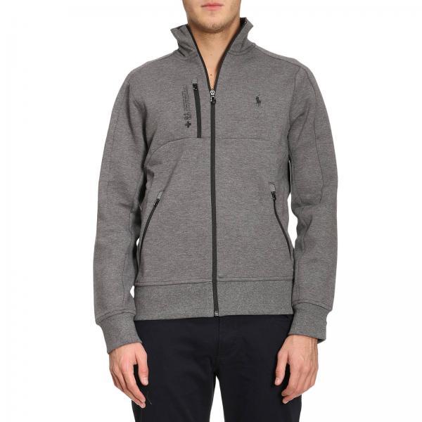 Polo Ralph Lauren Mens Grey Sweatshirt Sweater Men Polo Ralph