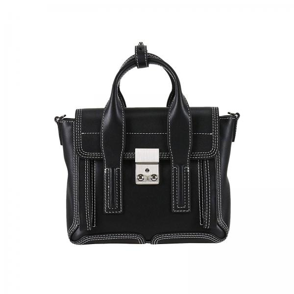 mini tasche f r damen 3 1 phillip lim schwarz mini tasche 3 1 phillip lim ap17 0226 nbl. Black Bedroom Furniture Sets. Home Design Ideas