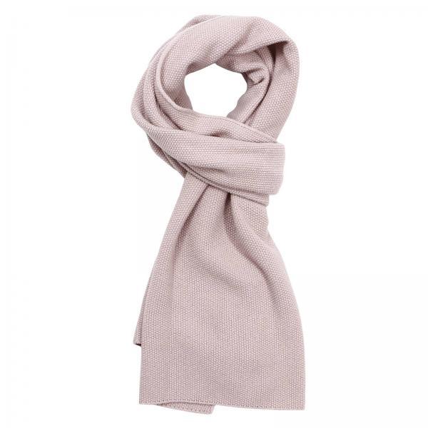 design senza tempo 3aa3f 1806e Sciarpa 42x192 cm in misto lana e cashmere con motivo punto riso