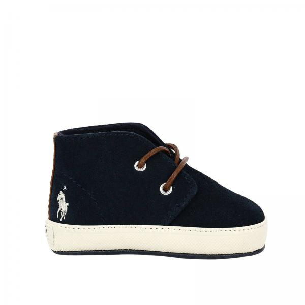 Polo Ralph Lauren Baby's Blue Shoes | Shoes Kids Polo Ralph Lauren | Polo  Ralph Lauren Shoes Lathan Mid - Giglio EN