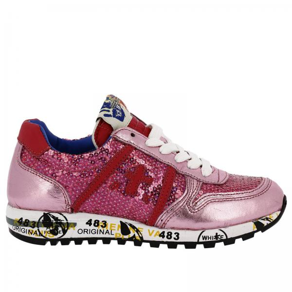 Premiata Pink Little Shoes Kids Girl ZqvzwnPE
