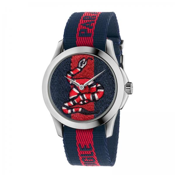 Le Marché des Merveilles watch case 38mm with Web Snake Pattern