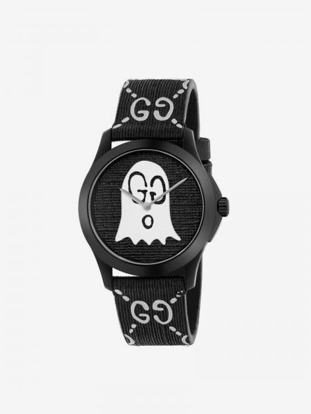 G-Timeless rubber watch case 38 mm with monogram and ghost