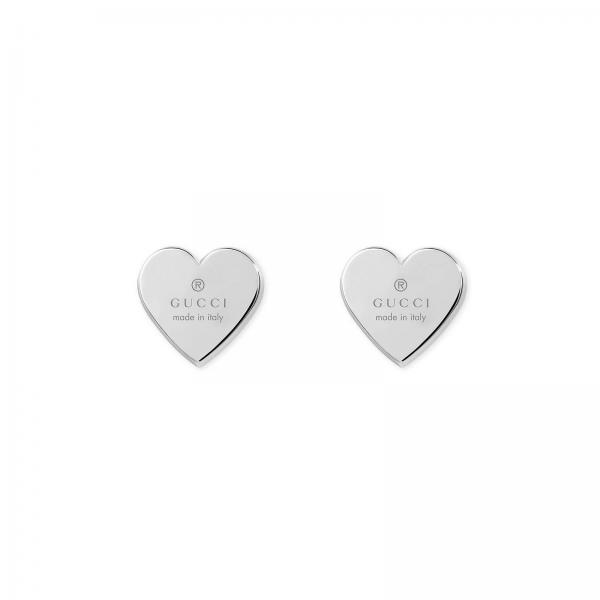 Trademark Heart Ohrringe in Silber 925 Rhodium plated