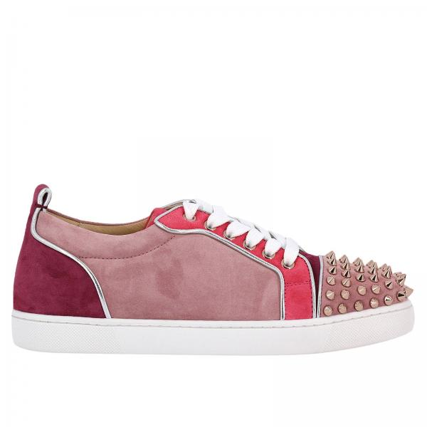 New Christian Louboutin Sneakers Pink For Women