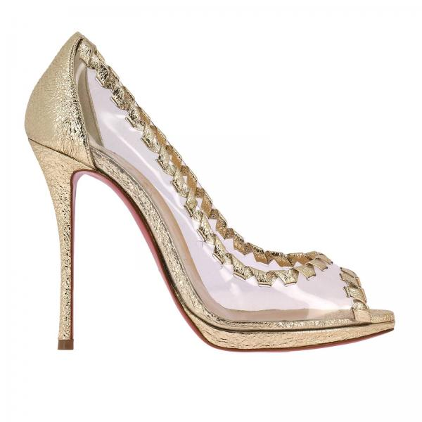 Christian Louboutin Women s Platinum High Heel Shoes  a0131084ae