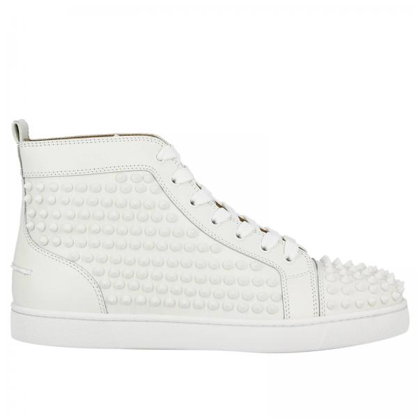 louboutin blanche homme