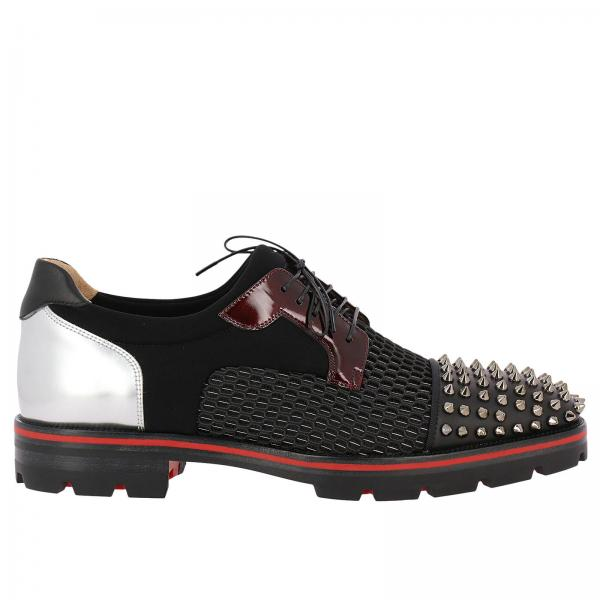 1091df08786 Christian Louboutin Men s Black Brogue Shoes