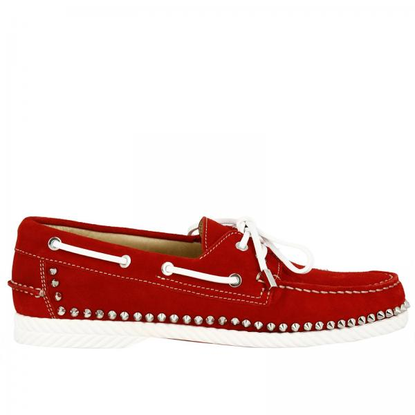 64fbfe66ae1 Christian Louboutin Men s Red Loafers