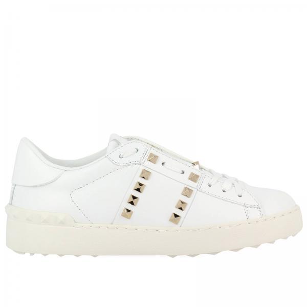 216e4ee6251d52 Valentino Garavani Women's White Sneakers | Valentino Rockstud Spike  Sneakers Untitled 11 | Valentino Garavani Sneakers Pw2s0a01 Bhs - Giglio EN