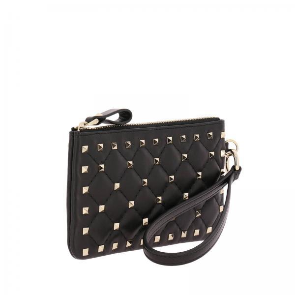 Pw0p0p82 Continuativo Artículo Mujer Negro Garavani Mini Valentino Napgiglio Bolso 8wx01