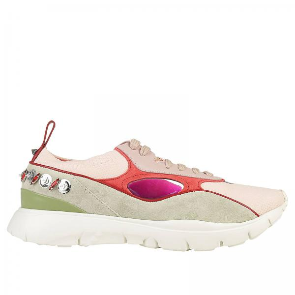 Maxi E Sneakers In Stringata Con Pelle Strass Tela Heroes kTXZwuOiP
