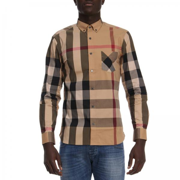 07ecb3bb0b1f Burberry Men s Beige Shirt