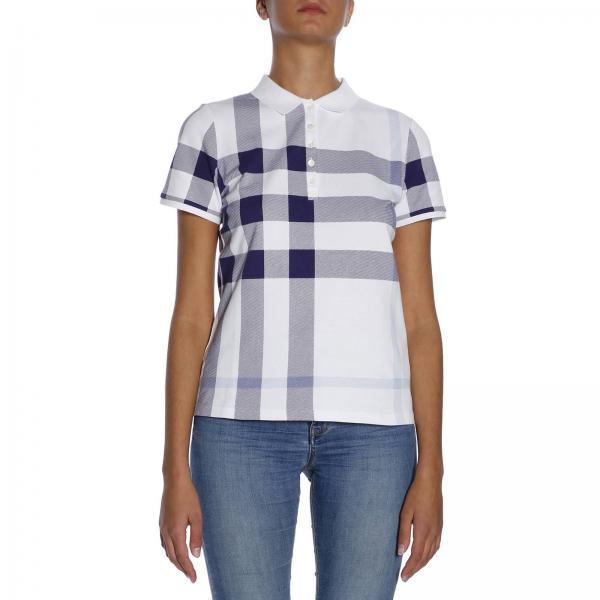 Blue Burberry T Shirt