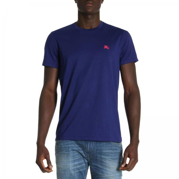 4ee64f24593d T-shirt Homme Burberry Bleu Royal   T-shirt Homme Burberry   T-shirt ...