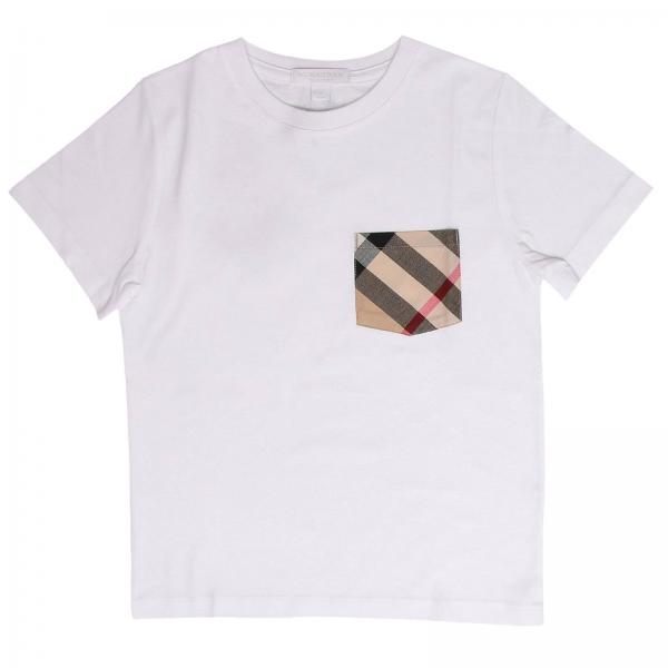 11cbe8f88eec T-shirt little boy Burberry White